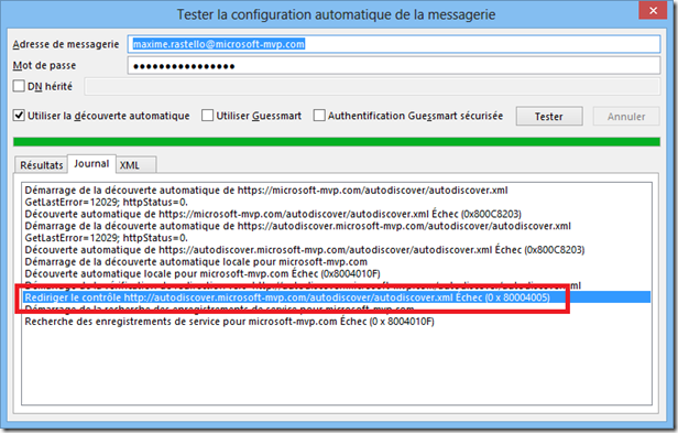 redirect-301 outlook