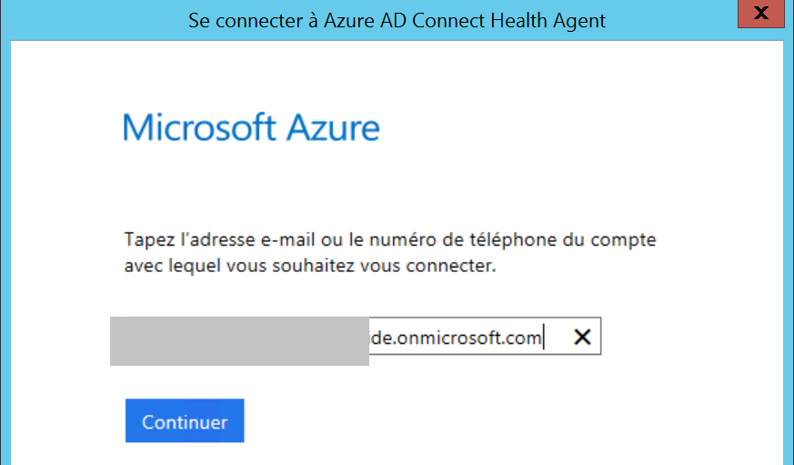 azure ad connect health config