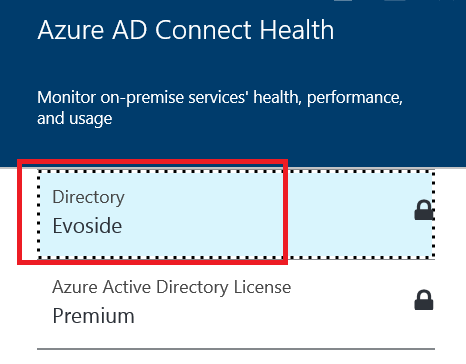 directory azure ad connect health